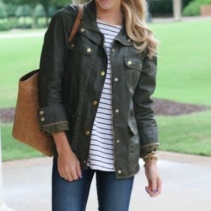 J. Crew | Downtown Field Jacket Military Style